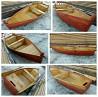 Лодка деревянная новая
