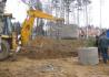 Выкопаем яму под шамбо с помощью Экскаватора-погрузчика JCB 3CX, 4CX
