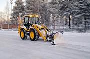 Уборка территории от снега в Билимбае