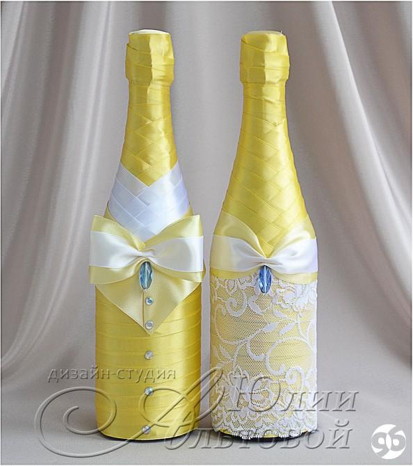 Бутылки на продажу на свадьбу своими руками